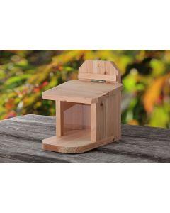 Eichhörnchen-Futterkasten aus heimischem Lärchenholz