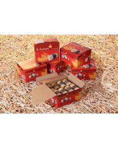 k-lumet Kamin- und Grillanzünder / rote Umverpackung