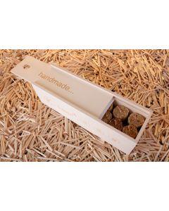 k-lumet-Holzbox mit Inhalt (16 Stck.)