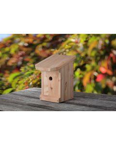 Meisenkasten aus heimischem Lärchenholz